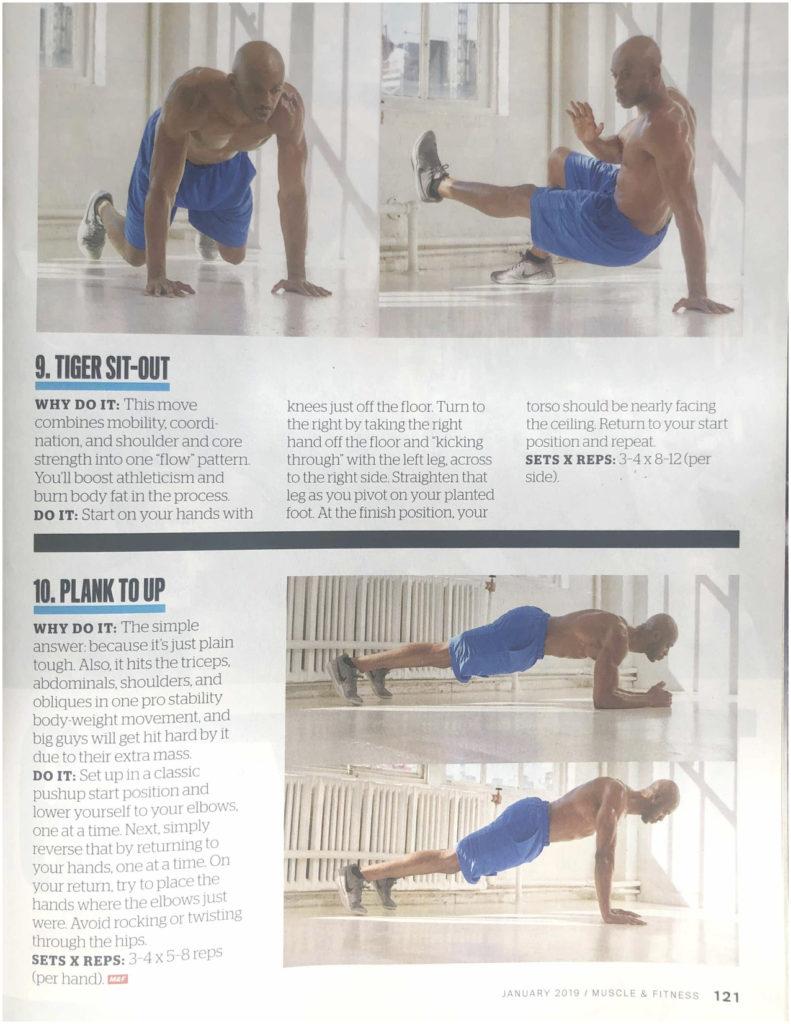 Muscle & Fitness Jan '19